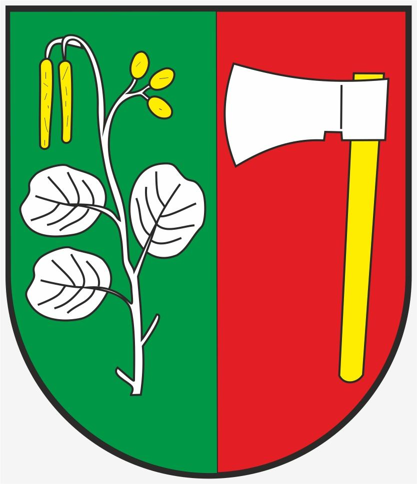 Obec Olšany znak